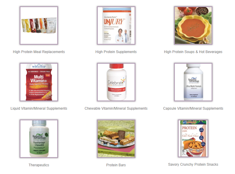 Pureed diet and supplement options