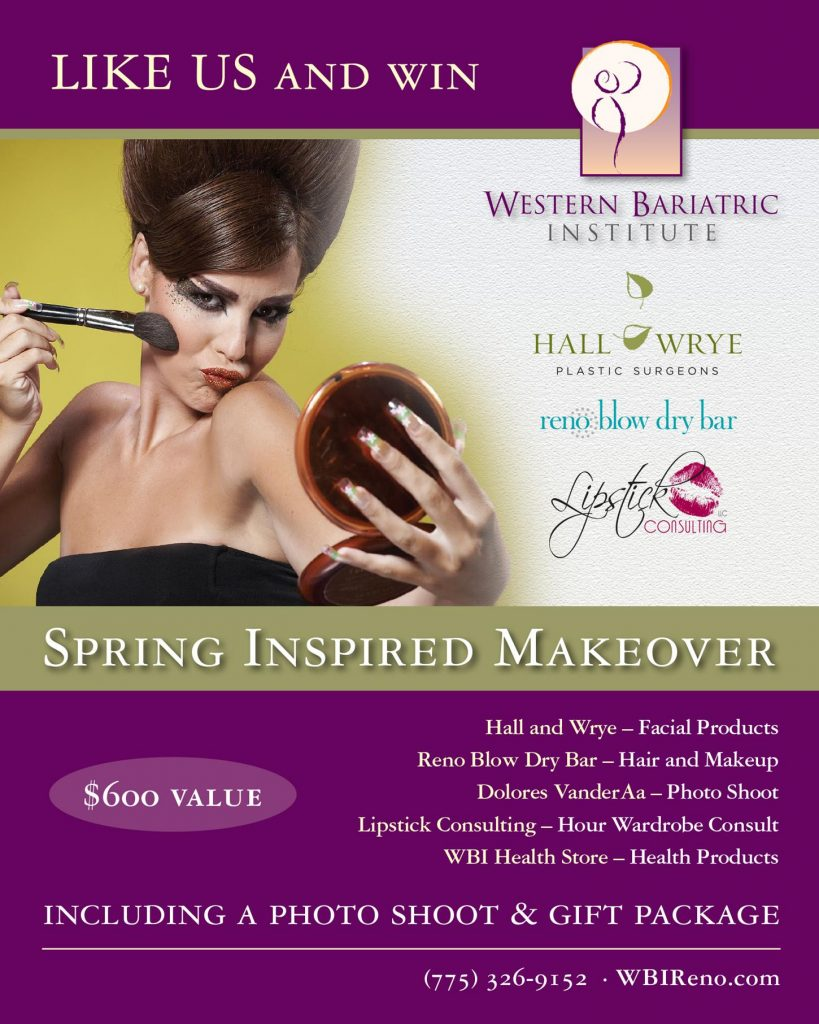 Like Us and Win a  Makeover and Photo Shoot!