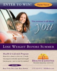 LOSE WEIGHT BEFORE SUMMER!